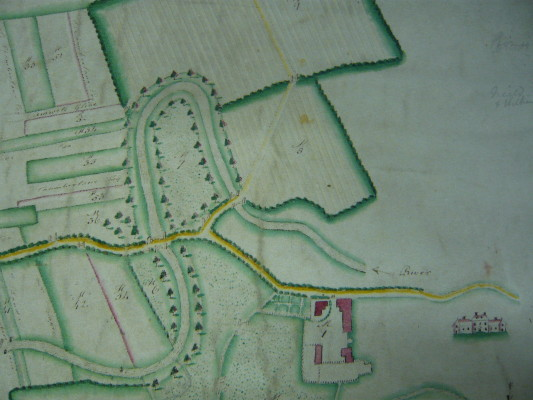 Map of the Manor of St Margarets, 1791 | Hertfordshire Archives and Local Studies