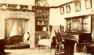 The interior of Howard's home at 359 Norton Way | Hertfordshire Archives and Local Studies Ref:D/EHo/F29/28