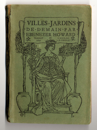 Howard's book on Garden Cities was published in many languages | Hertfordshire Archives and Local Studies Ref:D/EHo/F7/1
