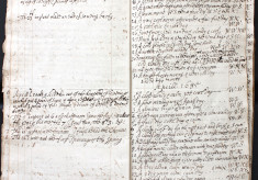Weather diary of Sir John Wittewronge of Rothamsted, 1684-1689
