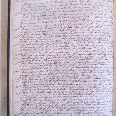 The Diary [D/EHxB20] | Hertfordshire Archives and Local Studies