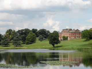 A view of Brocket Hall from across the lake | Adam Jones-Lloyd