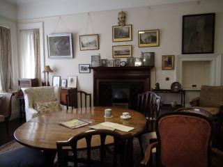 Shaw's dining room with original furniture | Adam Jones-Lloyd