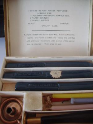 Seal making kit.