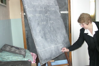 Joy Hall is class teacher for a wartime day