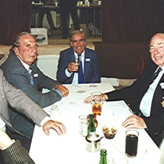 Facing the camera, left to right: John Tingey, Alan Clark, Jim Dalton and Frank 'Pum' Smith | Geoff Webb