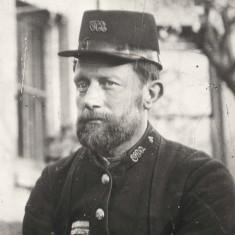 Dan Umley, Postman at Braughing c1900