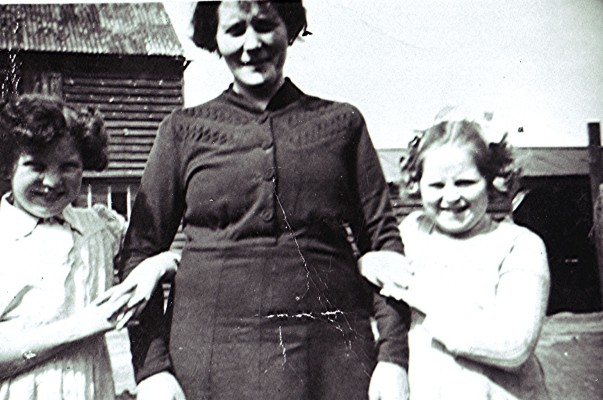 Mary Driscoll (left) with her mother and Mary Cawley | Geoff Webb