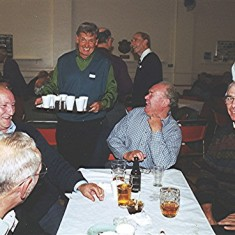 Left to right: Mick and Terry Day, Peter 'Podger' Fox, Vic Clarke, Brian Palmer and Alistair Govan | Geoff Webb