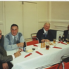 Left to right: Peter Fry, Roy Fox, Colin Alexander, Alf Day. | Geoff Webb