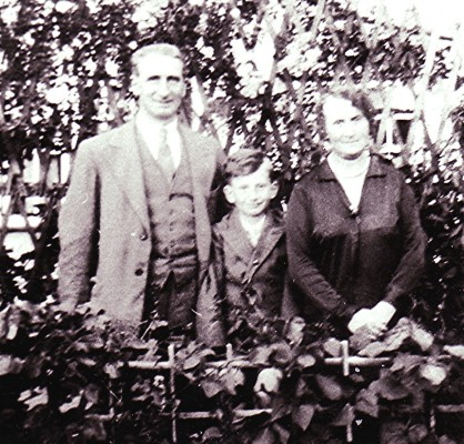 The Deamer family in East Common, Redbourn