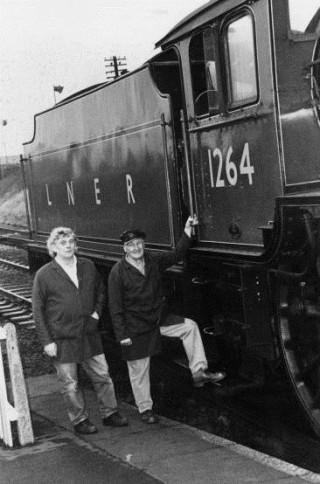 Derek and Ray, December 1997. During a day spent driving 1264 | Derek Welch