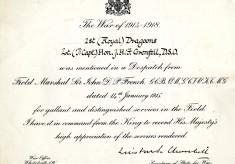 Letters of Julian Grenfell, December 1914