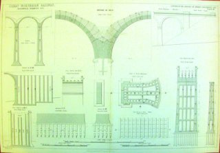 Engineering drawing, [DE/Gr/27] | Hertfordshire Archives and Local Studies