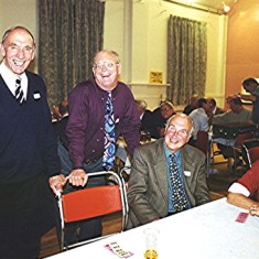 Left to right: Dennis Sibley, Frank Douse, David Axtell and John Boden | Geoff Webb