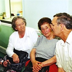Left to right: Nancy Draper, Beryl Burchmore, Mollie Powell, Geoff Webb | Geoff Webb