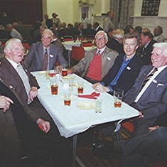 Left to right: Frank Dunckley, Geoff Nunn, Ken and John Marshall, Michael Dunckley, 'Snowy' Nunn and Alan Waller | Geoff Webb