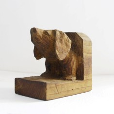 Dachshund head book end | Emma Pearce