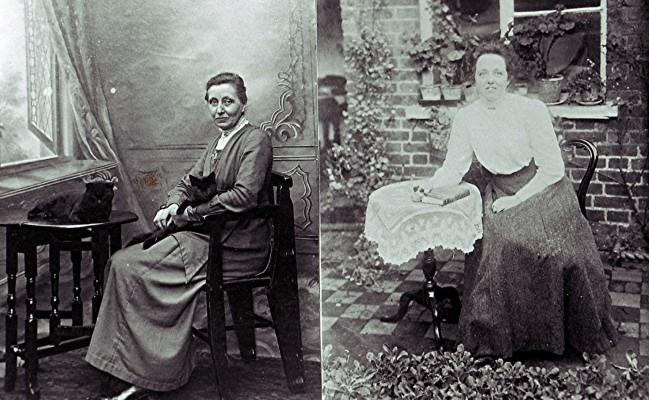 Ethel & Hilda Millard   Geoff Webb