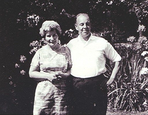 Eileen & Fred Richards   Geoff Webb