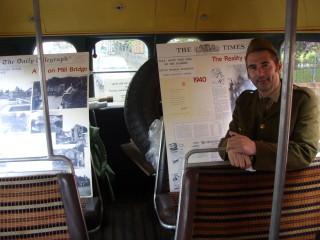 Interior of bus | Dave Hobbs