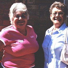 Christine Ellis (left) and Joan Mimer. | Geoff Webb