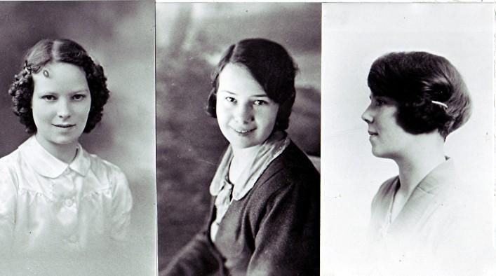 The Elsom sisters   Geoff Webb