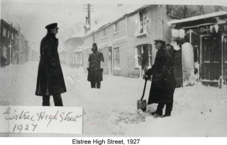 Elstree High Street | Hertfordshire Archives & Local Studies