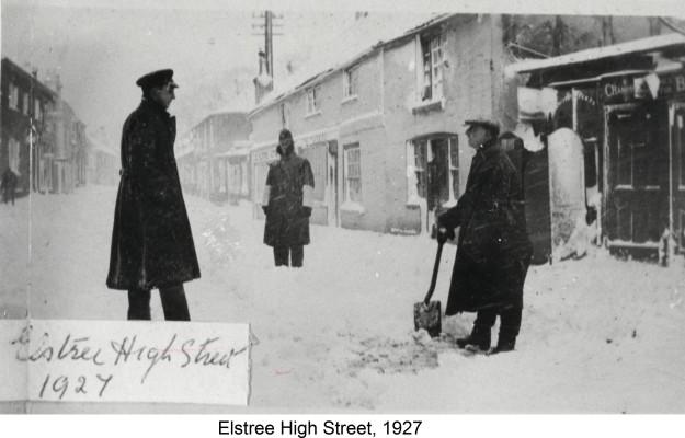 Elstree High Street | Hertfordshire Archives & Local Studies