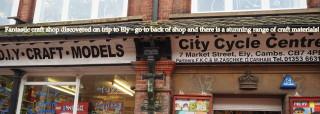 My alternative site of pilgrimage in Ely!
