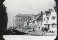 Turn back time - Fore Street as it was in the past and how it is today