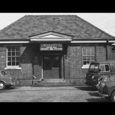 Church Street station building, Rickmansworth, used as a printing works in 1966. | Photographer unknown, lent by Three Rivers Museum