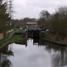 Crossing the Grand Union Canal near Croxleyhall Farm. March 2010. | © St Albans Museums