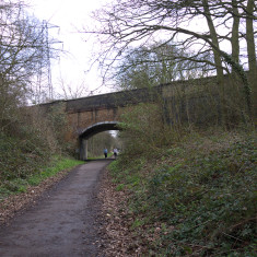 The road bridge at Tolpits Lane. March 2010. | © St Albans Museums