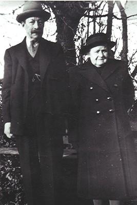 Mr. & Mrs. Fred Miles   Geoff Webb