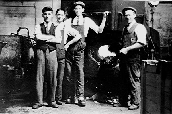 Russell Harborough's jam factory c.1937