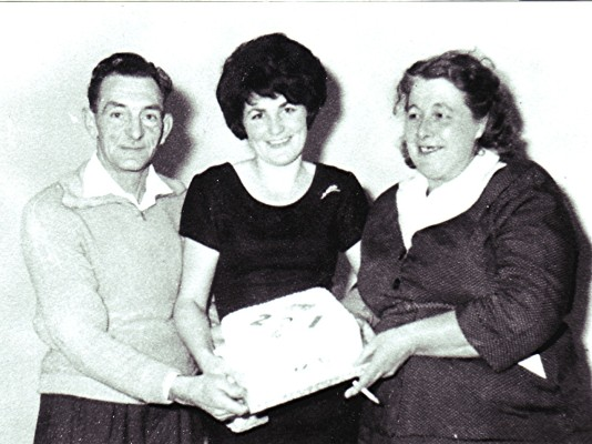 Bill and Mabel Fairall with Audrey | Geoff Webb