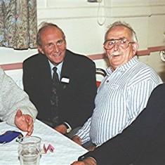 Left to right: James 'Jippy' O'Hara, Peter Reading, Gordon Field and Dennis Reading | Geoff Webb