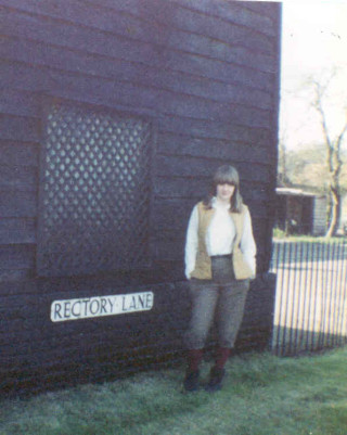 Fiona, Rectory Lane 1982 (this building has since been demolished)