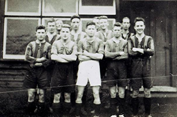 Football Club c.1932 | Geoff Webb