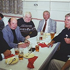 Left to right: Roy Fox, Keith Bissell, Arthur Winch, Barrie Millington, Terry O'Dell and Brian Cowland | Geoff Webb