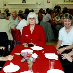 Left to right: Barbara Wheatfill, Alice Robertson, Tessa Brown, Hilary Billington, Gladys Fox. | Geoff Webb