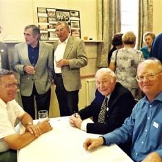 Left to right rear: John Catlin, Trevor Coleman, Mick Chatfield. Front: Roy Fox, Frank Smith, Frank Douse Jnr. | Geoff Webb
