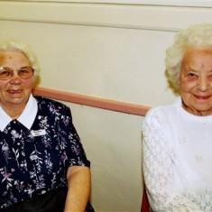 Gladys Fox (left) and Doll Elsom | Geoff Webb