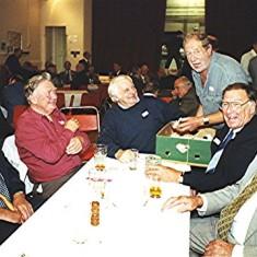 Left to right: Norman Peck, Geoff Hobbs, Arthur Winch, Brian Cowland, Roy Fox and John Dunckley | Geoff Webb