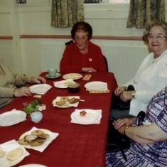 Left to right: Gladys Fox, Mollie Powell, Beryl Burchmore, Anne Taylor. | Geoff Webb