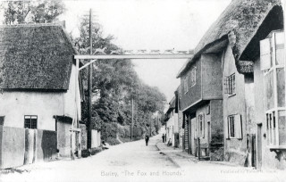 Fox & Hounds, Barley 1905 | Hertfordshire Archives & Local Studies