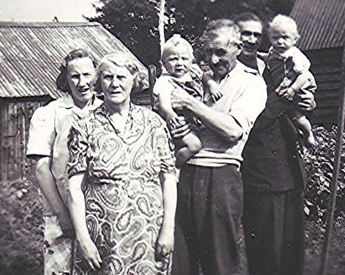 The Fox and Allen families | Geoff Webb
