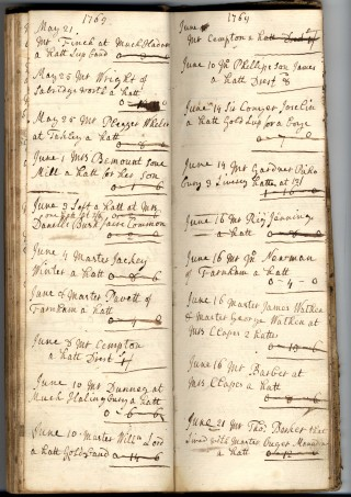 John Phillip's Order Book | Hertfordshire Archives & Local Studies [71246]