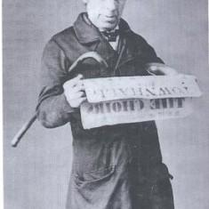 Frank Bowler, Hitchin Town Crier, c1860